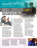 Kaiser Permanente Broker Newsletter