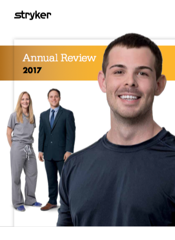 Stryker Medical 2017 Annual Report